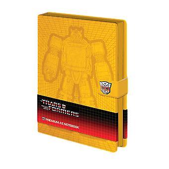 Transformers Bumblebee A5 Premium Hardback Notebook