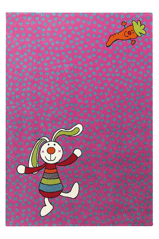 Rugs - Sigi-Kid Rainbow Rabbit Pink - SK 0523-03