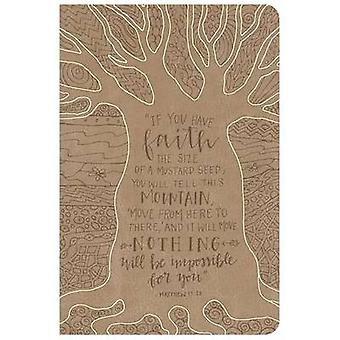 NKJV Large Print Personal Size Reference Bible - Natural Faith by Hol