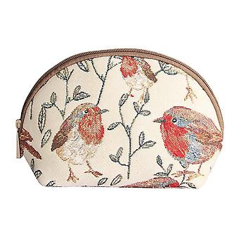 Robin ladies' cosmetic bag by signare tapestry / cosm-rob