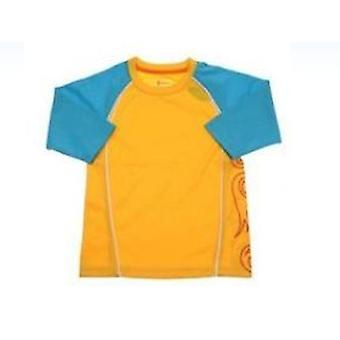 CROCS Boys Rashie Swim T-Shirt (Size 2)