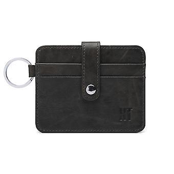 Hautton Thin 4 Credit Card Holder - Black