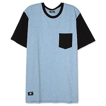 Lrg Painters Pocket Knit T-Shirt Dusk Blue Heather