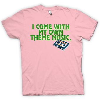 Kids T-shirt - I Come With My Own Theme Music
