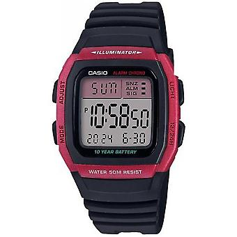 Casio W-96H-4AVEF Watch-VINTAGE Red Box digitale display digitale mannen/vrouwen