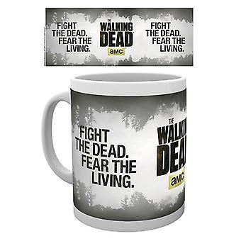 El caminar muerto luchar la taza beber muerto en caja