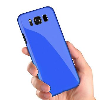 Bakeey piano paint glossy hard pc protective case for samsung galaxy s8
