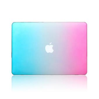 Mode regnbue farverig beskyttende Shell laptop sag Cover til Apple MacBook Retina 15,4 tommer