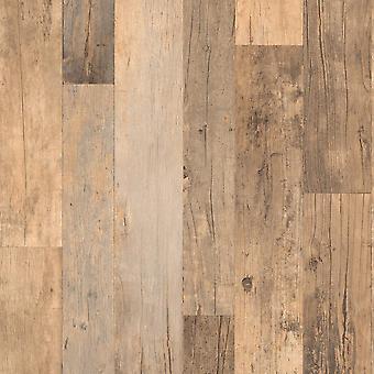 Bruin hout behang antieke planken planken grijs getextureerde plakken muur vinyl Rasch