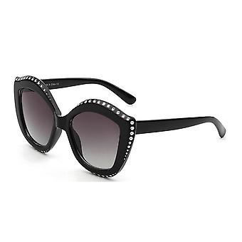 Angola | s1092 - women oversized round cat eye fashion sunglasses