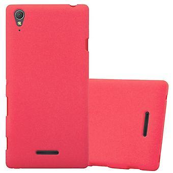 Cadorabo Hülle für Sony Xperia T3 Case Cover - Handyhülle aus flexiblem TPU Silikon – Silikonhülle Schutzhülle Ultra Slim Soft Back Cover Case Bumper