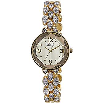 Burgi Clock Woman Ref. BUR124YG