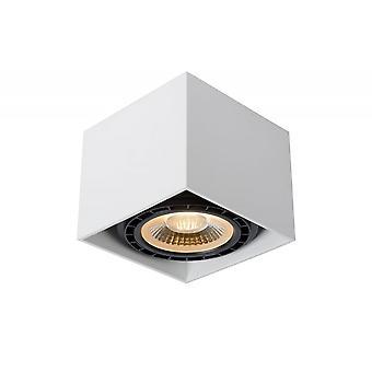 Lucide Fedler Moderne Square Aluminium White Ceiling Spot Light